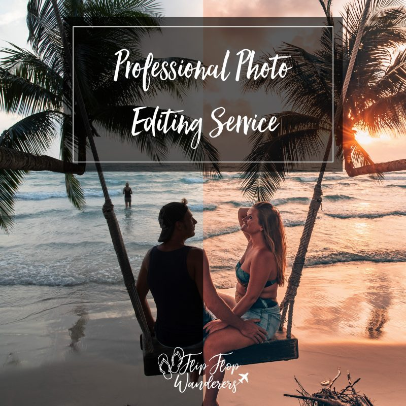 Professional Photo Editing Service | Flip Flop Wanderers