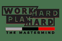Work Hard Play Hard Podcast logo