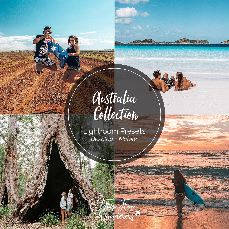 Australia Preset Collection | Flip Flop Wanderers