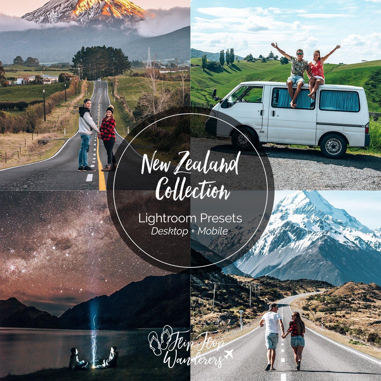 New Zealand Preset Collection | Flip Flop Wanderers