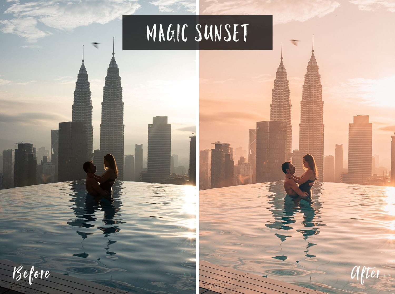 Magic Sunset   Flip Flop Wanderers Presets